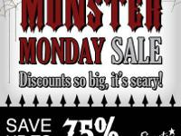 Monster Monday Sale is coming.  If you love Scentsy,