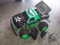 Remote control truck needs 9v battery call  Location: