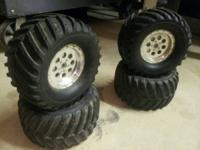 "6.5"" Monster Truck Tires.  will certainly fit Traxxas,"