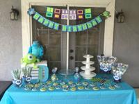 Great Deal on Monsters Inc party decorations! 10 really