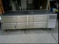 Mobtague six drawer cooled base model RB 96 R. Used but