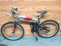 For sale is my MONTAGUE alumninum folding bike that was