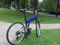 Montague X90 folding mountain bicycle. Fresh. specs:.