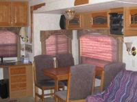2002, rear kitchen with island, value package, arctic