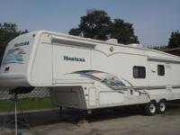 2004 38' Montana Fifth Wheel. 3 slides, awnings all