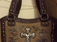 Brand New Montana West Handbag! $25.00 obo Brown with