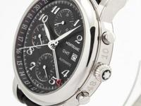 This is a Montblanc Star GMT Chronograph Ref. MB102135