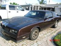This is a 86 monte carlo SS clean body rebuilt 350