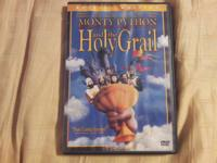 Monty Python and the Holy Grail special edition, and an