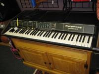 Polymoog Keyboard Synthesizer.  Works excellent. This