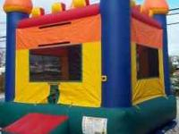 For Rent Castle Bounce House/ Moon Bounce. This is a