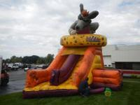 Moon Walk/Bounce House Blow-Up Inflatable, Vinyl