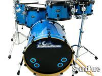 Drum Sizes  8x12, 9x13, 13x16, 16x18, 20x22 and 6x14