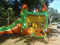 We have combo moonwallk/slide for rent wet or dry. We