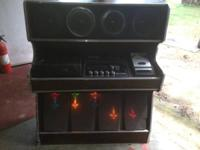 This 70's Hi-Fi, Entertainment center, has 8-track,