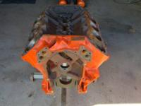 Bare block 1965 440 motor with 1 cast crank. Bored