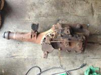 4 speed transmission and shifter with linkage out of a