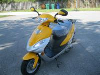 BRAND NEW SCOOTER , BUYER WILL RECEIVED CERTIFICATE OF