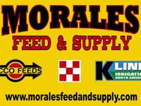 Morales Feed carries a large supply of feed and