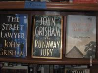 We just received more John Grisham hardcover books We