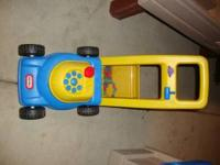 PIC 1- LAWN MOWER- 12.00 PIC 2- TEETER TOTTER- 45.00