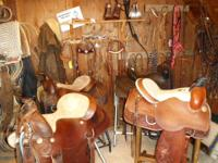 WE HAVE 9 SADDLES TO SELL... 12 IN KIDS/PONY