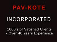 Over 40 years in Orange County, Pav-Kote provides high