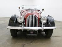 1963 Morgan 4/4 Roadster1963 Morgan 4/4 Roadster in red