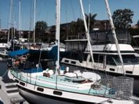 1974 Morgan out island 41 sloop/cutter. Designed for
