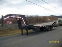 I have Power tail gooseneck trailers. 20K and 14.5k in