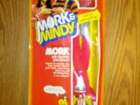"1979 MATTEL 9"" FIGURE OF MORK FROM THE TV SHOW MORK &"