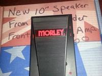 I have a Morley-Steve Vai's Bad Horsie Wah pedal with
