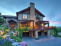 This beautifully built custom home sits on a premium