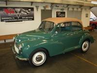 1967 Morris Minoe 1000 Convertible. has been in private