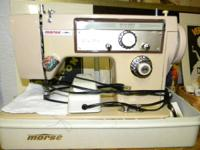 Morse Sewing Machine Zig Zag. Very Nice Sturdy Machine.