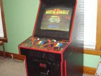 Midway Mortal Kombat II Arcade Equipment.  Works