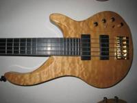 ***American Patriot 4 String Bass Guitar*** for Sale in ...