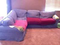 Couch worth $800, cover needs tlc... Will take $300.