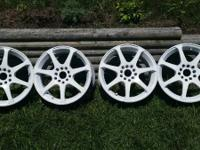 I have a set of Motegi racing wheels for sale, they are