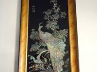 Many bird collectible items: Beautiful Mother of Pearl