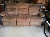 Extremely comfy motion couch in excellent condition. ,
