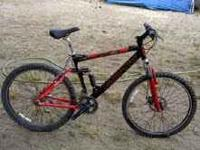 IM SELLING THIS MENS MOTIV VORTEX DISK BIKE GREAT BIKE