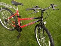 This is a like new MOTIV BACKCOUNTRY MTB, womans,