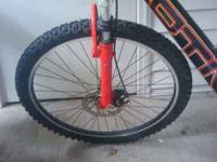 Hey i have a Motiv Mountain Bike. It is in great