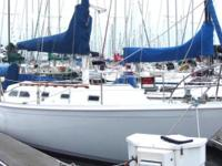 Motivated BEAUTIFUL ERICSON 35' MK III 1973 New on