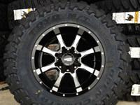 DODGE RAM 2500 3500 8 LUG 8X165 -24 OFFSET LIFTED OR