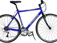 MOTOBECANE CAFE SPRINT 15in BLUE HYBRID / FLAT BAR ROAD