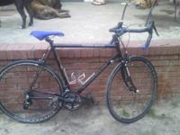 Motobecane road bike for sale today.  Everything is in