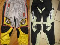2 sets of MotoCross trousers. Both are really carefully