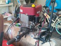 Have a 20008 Briggs and Stratton mower electric motor
